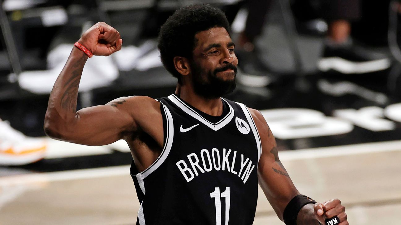 <div>Nets' Kyrie Irving FAQ: Home games in question, trade talk, contract status and more</div>