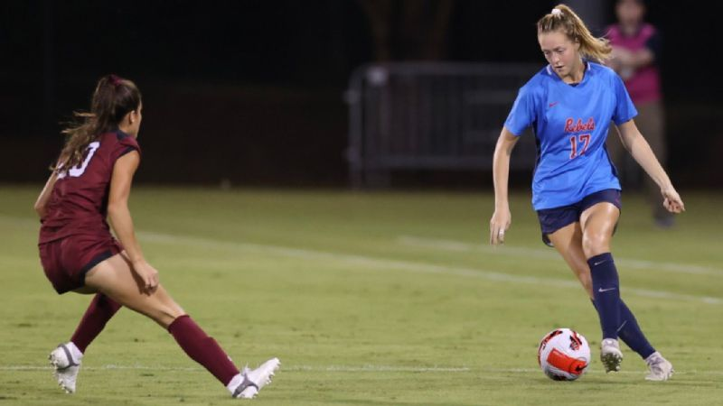 Rebels hand No. 19 Gamecocks its first conference loss