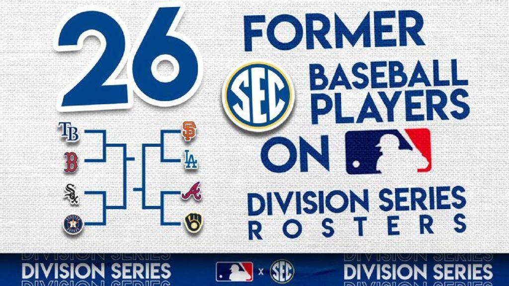 SEC Represented on MLB Postseason Rosters
