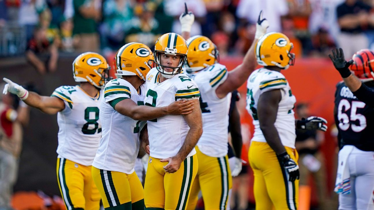 Takeaways and big questions: Chaos in Packers-Bengals, Cardinals 5-0