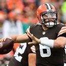 Browns lose RB Hunt (calf) for 'several weeks'