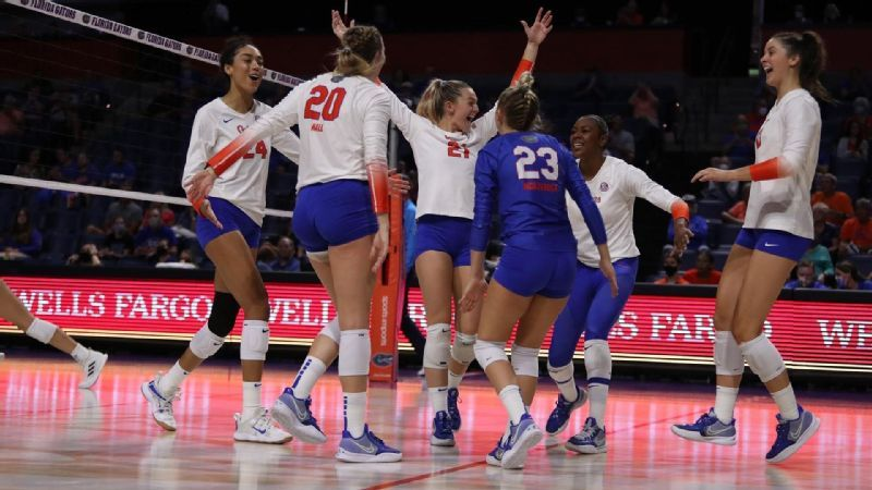 Gators pick up their 59th consecutive set win over Bama