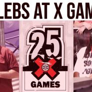 Celebs at X Games