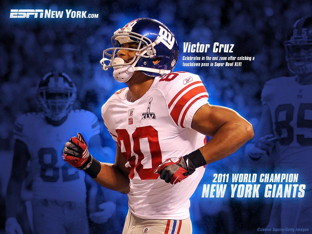 Giants Super Bowl Wallpaper: Cruz Edition