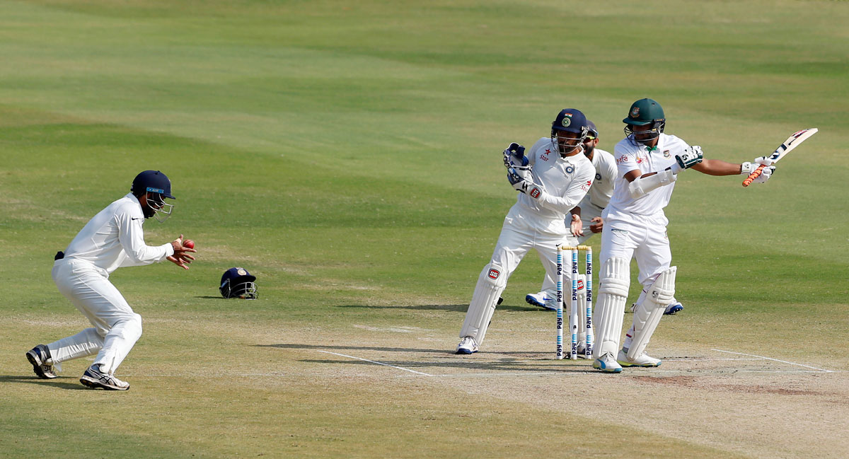 Image result for Historical Denote Test: Kick off in Bangladesh and ind  106 on the first day