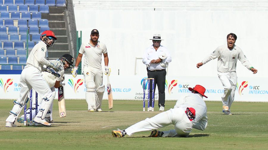 Afghanistan Beat United Arab Emirates By 10 Wickets United