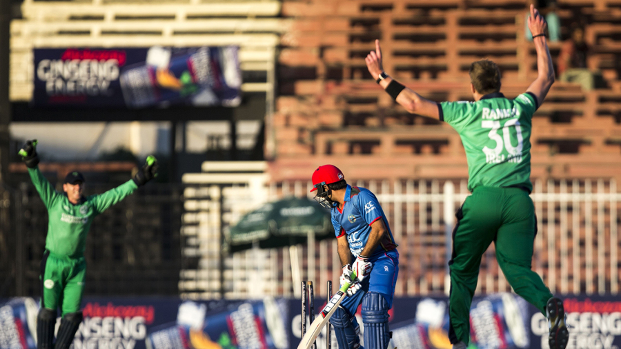 Afghanistan crumble as Ireland mount pressure