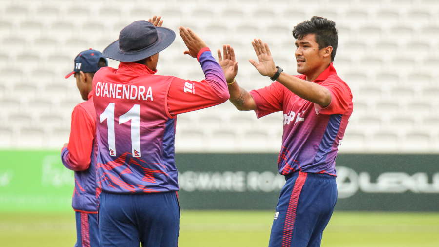 Nepal claw back in the field to complete series double in UAE