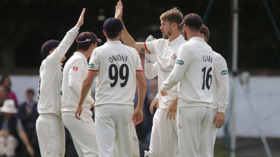 Bailey begins celebrations early as Lancashire seal Division Two title