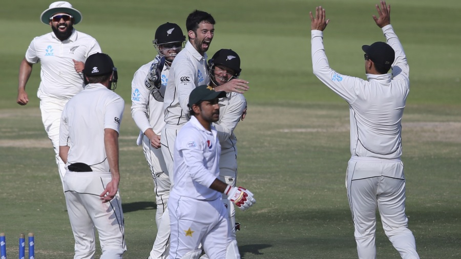 After 49 years, New Zealand conquer Pakistan away
