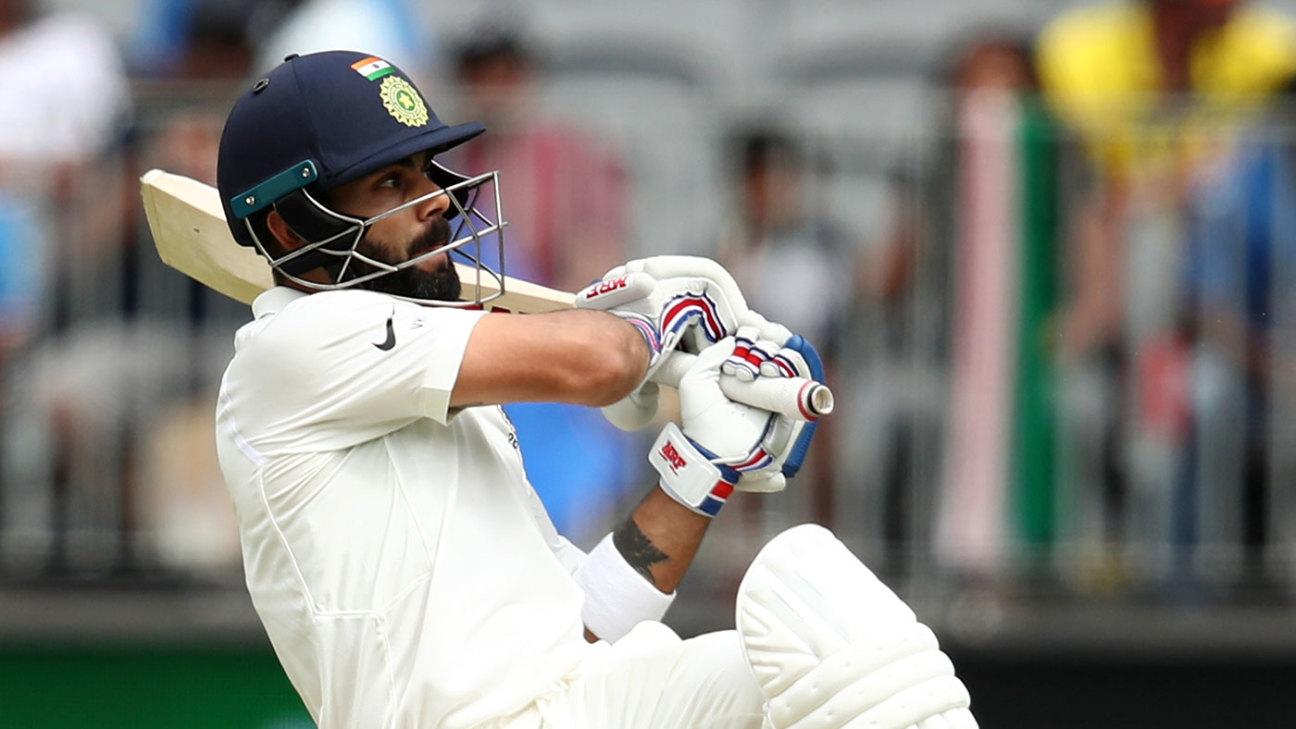 Virat Kohli, Ajinkya Rahane repel Australia's attack