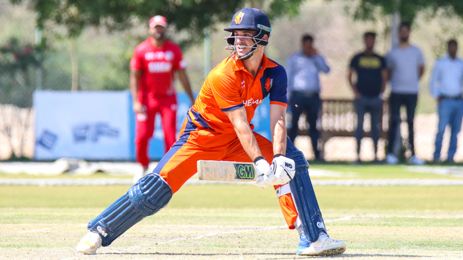 Netherlands seamers blow Namibia away for 96