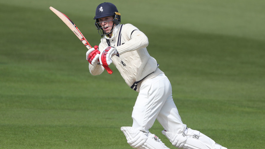Zac Crawley stars with home-grown hundred to carry Kent's fortunes