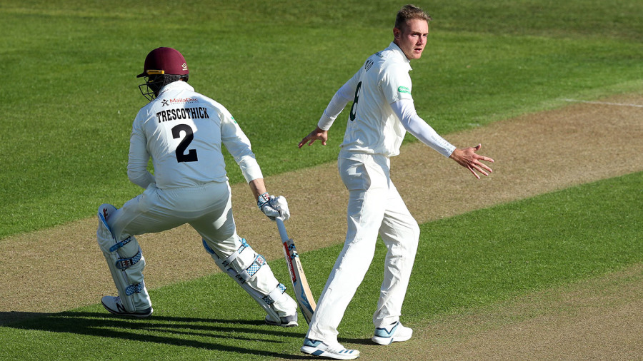 Stuart Broad brace puts Somerset in their place
