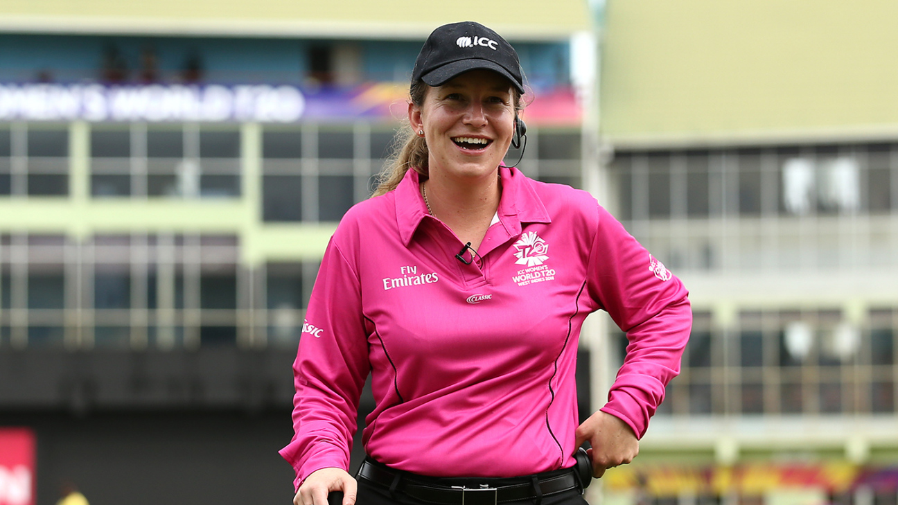 Claire Polosak to make history as first female umpire in a men's ODI