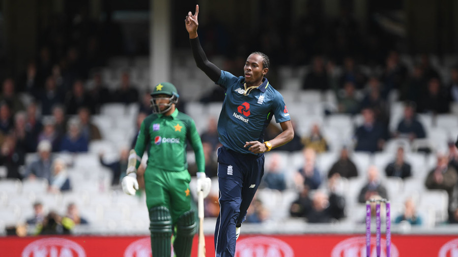 No result - England vs Pakistan 1st ODI Match Summary, Report