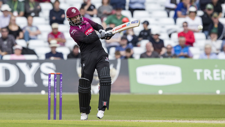 No Lord's final for Hales as Nottinghamshire fall to Somerset at semi-final hurdle