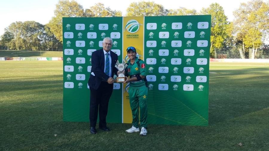 Iram Javed, Nida Dar steer Pakistan to 2-1 lead