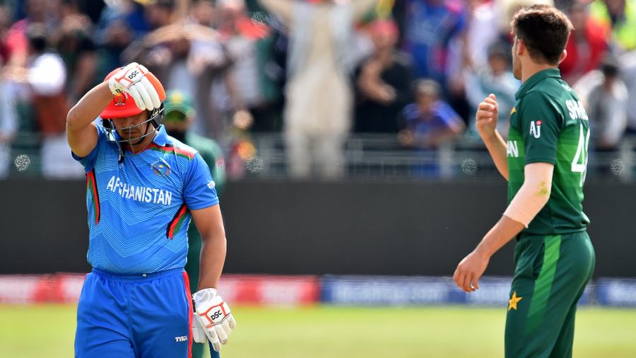 Recent Match Report - Afghanistan vs Pakistan Innings 2019