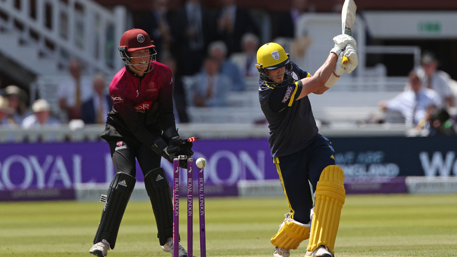 Somerset take charge despite Sam Northeast, James Fuller fifties