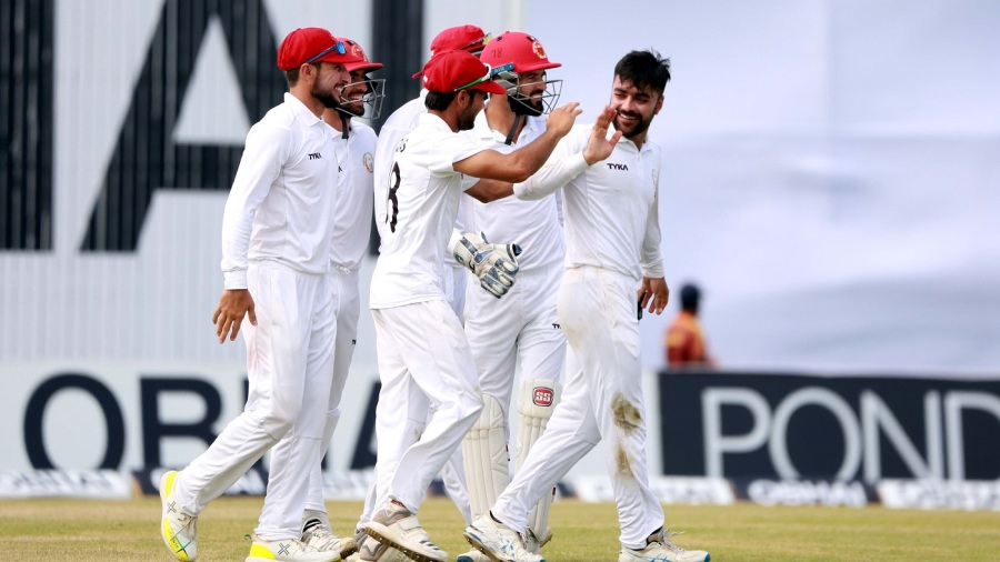 Rashid Khan leads with bat, ball to put Afghanistan on top