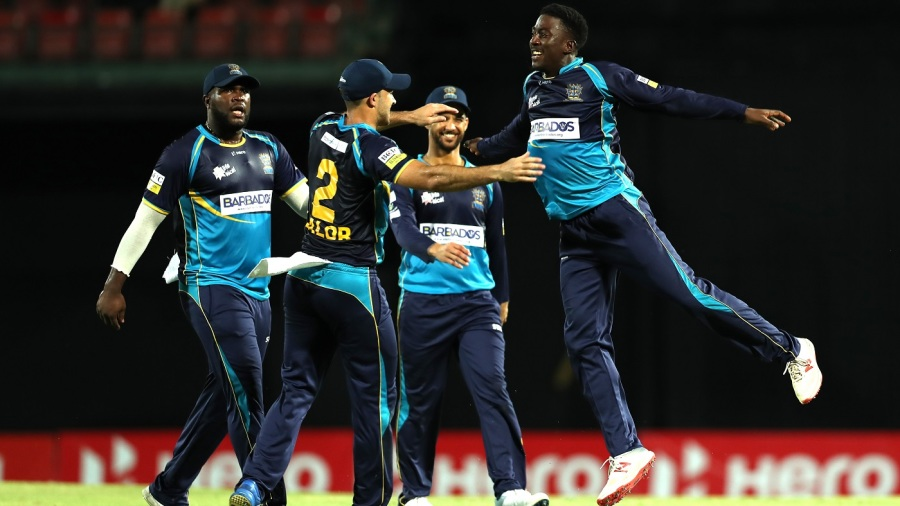 Barbados Tridents overcome Sekkugge Prasanna assault to make final