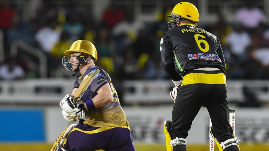 Records tumble as Trinbago Knight Riders smash 267 to beat Jamaica Tallawahs