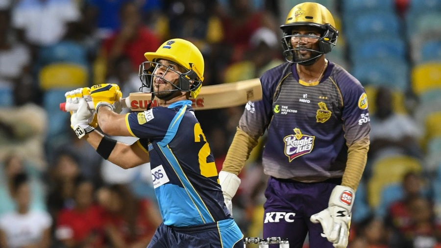 JP Duminy's record fifty, Hayden Walsh's five-for trounce Trinbago Knight Riders