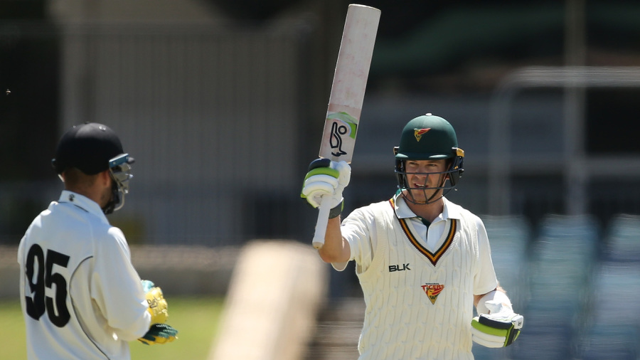 Marsh brothers lead fightback after rare Tim Paine century