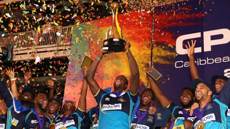 Barbados Tridents end Guyana Amazon Warriors' 11-win streak to win second CPL title