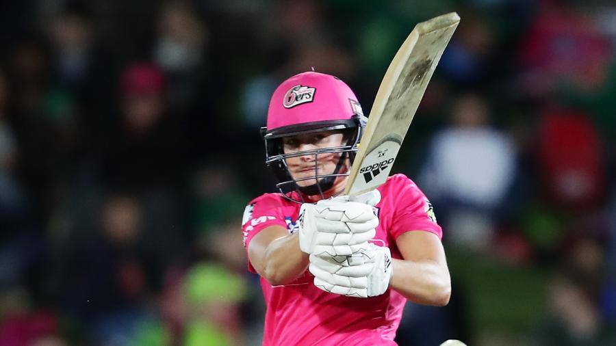 Recent Match Report - Sydney Sixers Women vs Sydney Thunder Women, Women`s Big Bash League, Innings