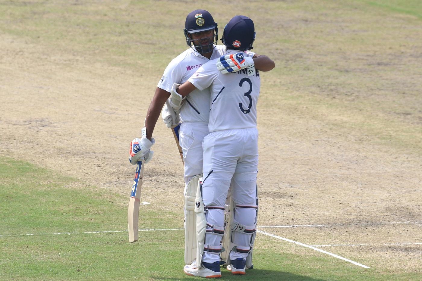 South Africa rocked after Rohit Sharma 212, Ajinkya Rahane 115