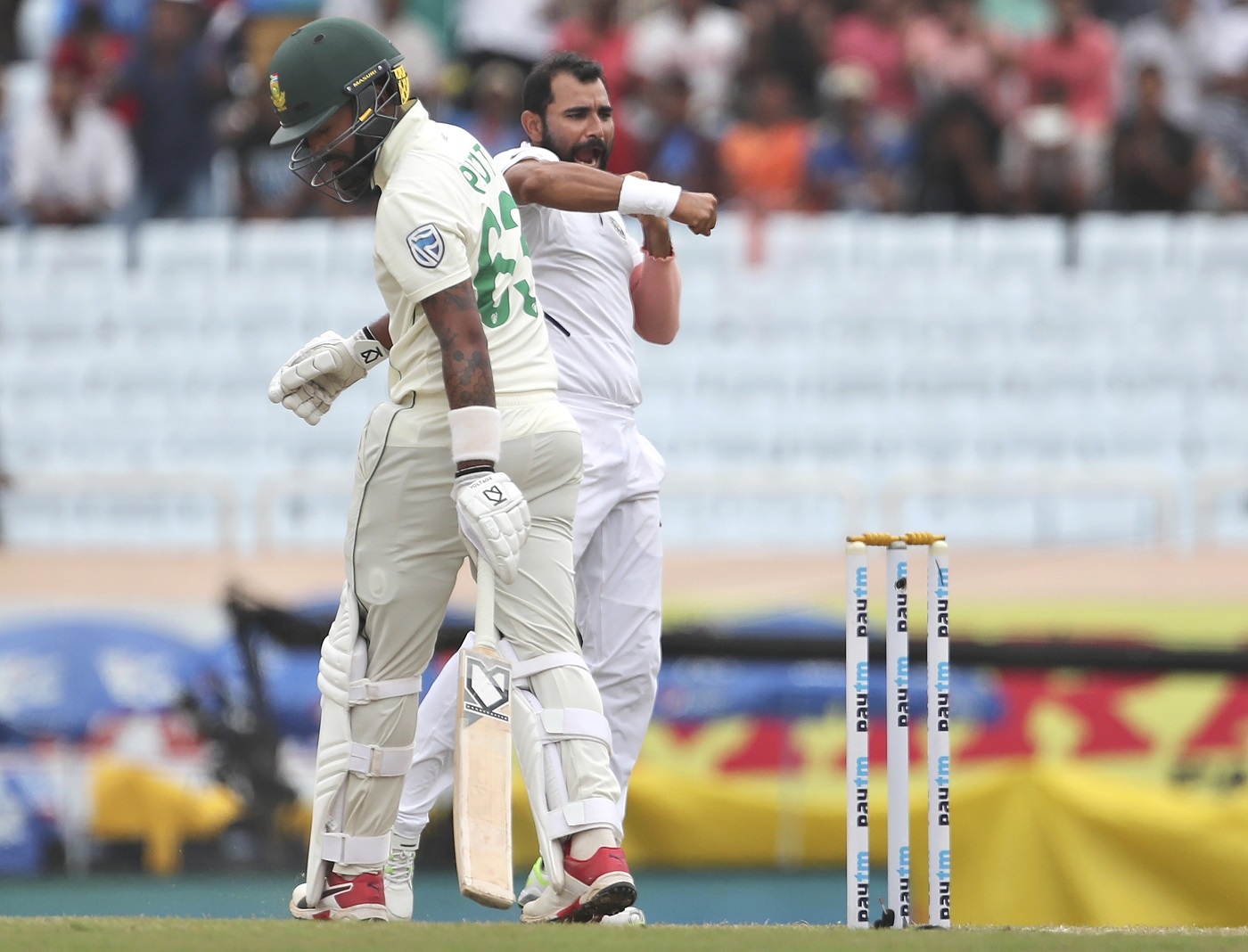Mohammed Shami, Umesh Yadav put India on the brink of 3-0 sweep