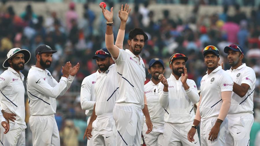 Ishant Sharma's five-for leads India's dominance