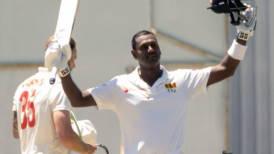 Angelo Mathews' maiden double-century puts Sri Lanka in a near-unassailable position