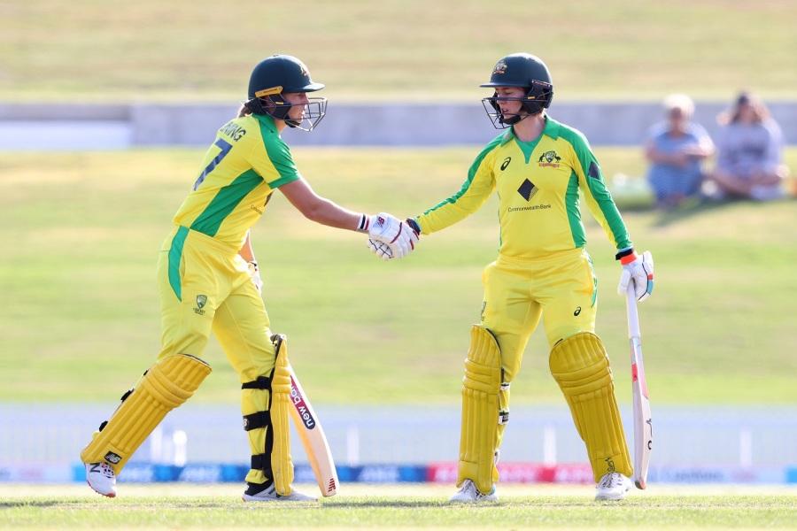 Haynes, Lanning, Mooney, Campbell shine in Australians' warm-up win
