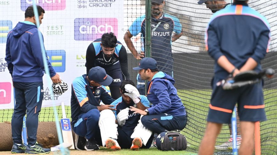 Concussion rules Mayank Agarwal out of first England Test