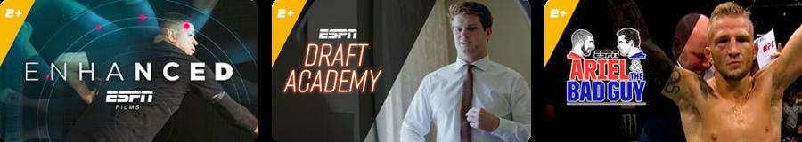 ESPN+ Exclusives