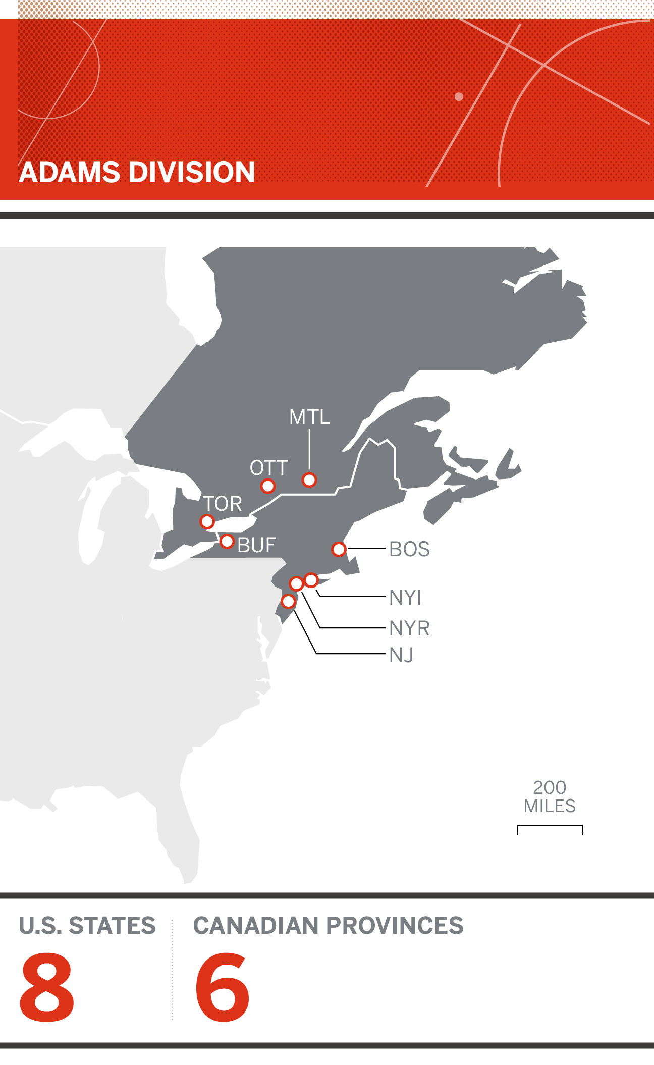 NHL - Realigning the divisions based on Seattle expansion ... Us Fan Map Nhl Bruins Vs Blues on