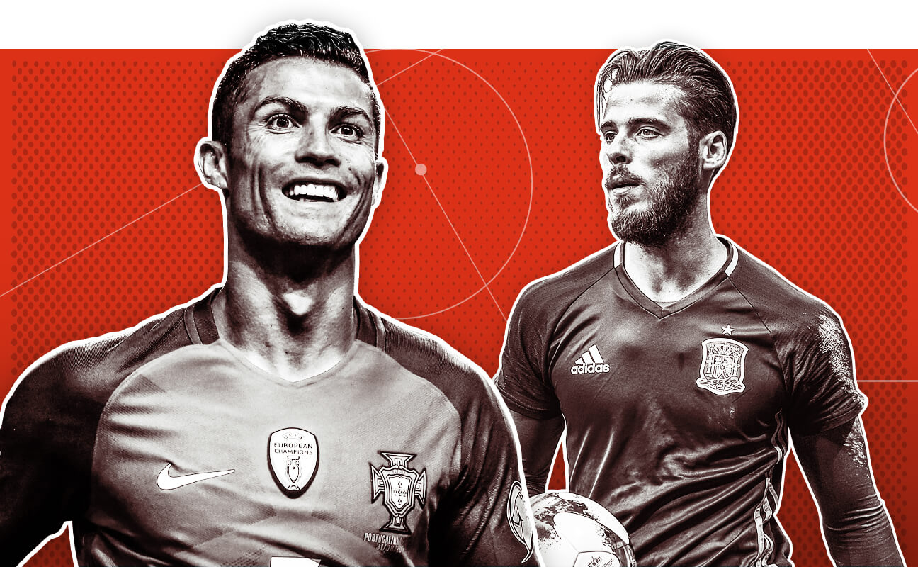 Portugal  Can Ronaldo lead Euro 2016 champs to global glory  - Spain   Andres Iniesta 787c6dd84
