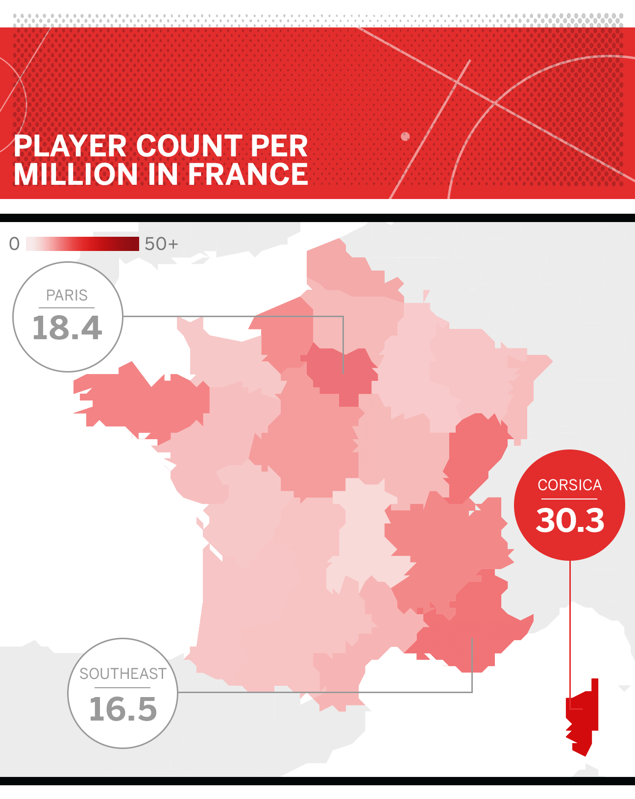 Football hot spots: Where are players produced in the