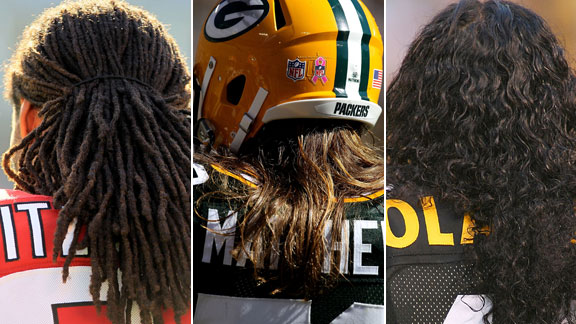 Nfl Players Beginning To Embrace Long Hair Style