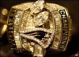 Patriots Super Bowl ring (2004)