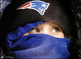 Patriots fan