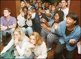 Image result for oj simpson verdict blacks celebrate