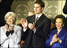 Joyce Rumsfeld, Tom Brady, Alma Powell