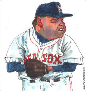 Larry Johnson cartoon