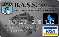 Bassmaster credit card