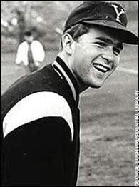 Bush at  Yale