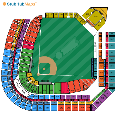 Colorado rockies stadium map 100 images colorado rockies vs los